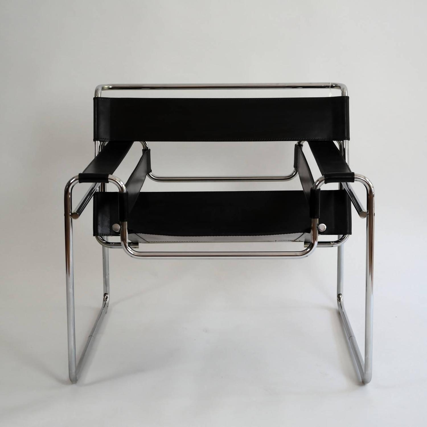 marcel breuer chair original rose tarlow chairs bauhaus wassily lounge by for