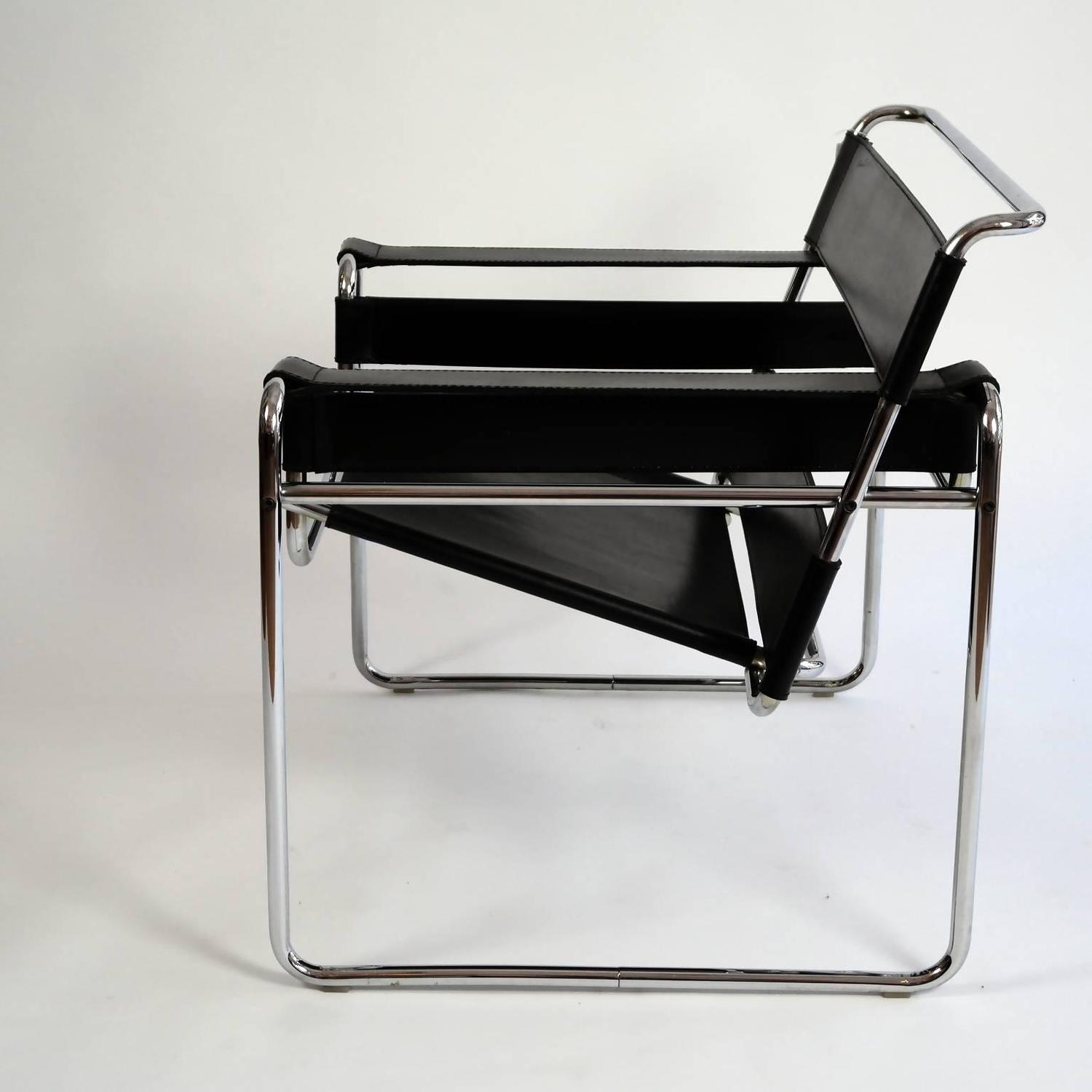 marcel breuer chair original little tikes table and chairs set bauhaus wassily lounge by for