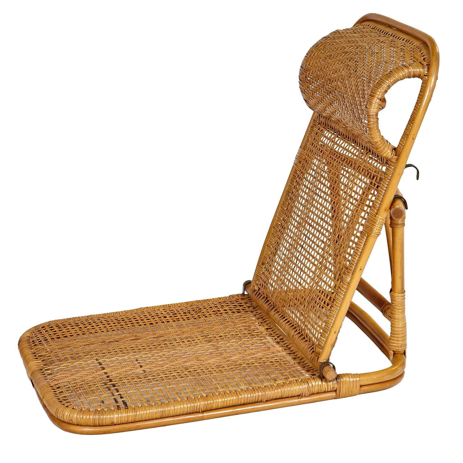 folding wicker chairs resin target rattan and beach pair at 1stdibs