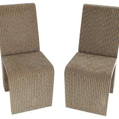 Frank Gehry Cardboard Chair Arm Cap Covers Side Chairs For Sale At 1stdibs