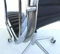 Mid-Century Modern Eames Leather Desk Chair For Sale at ...