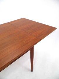 Danish Teak Extending Dining Table Midcentury, 1960s For ...