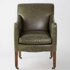 Bergere Chair For Sale Recliner Reviews 2018 English Regency Mahogany And Leather