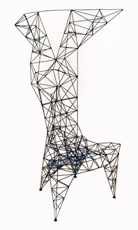 Tom Dixon's Pylon Chair For Sale at 1stdibs