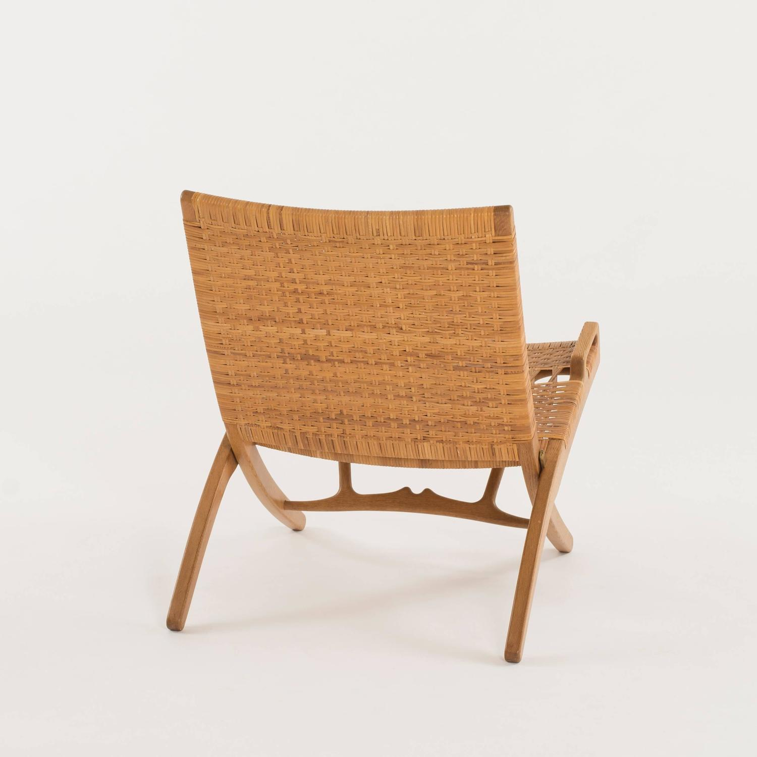 Hans Wegner Folding Chair Hans J Wegner Folding Chair For Johannes Hansen For Sale