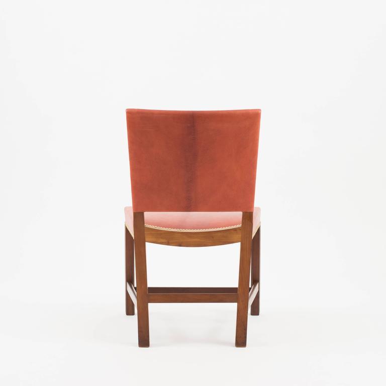 red chairs for sale oversized chair with twin sleeper kaare klint rud rasmussen 1930s at 1stdibs scandinavian modern