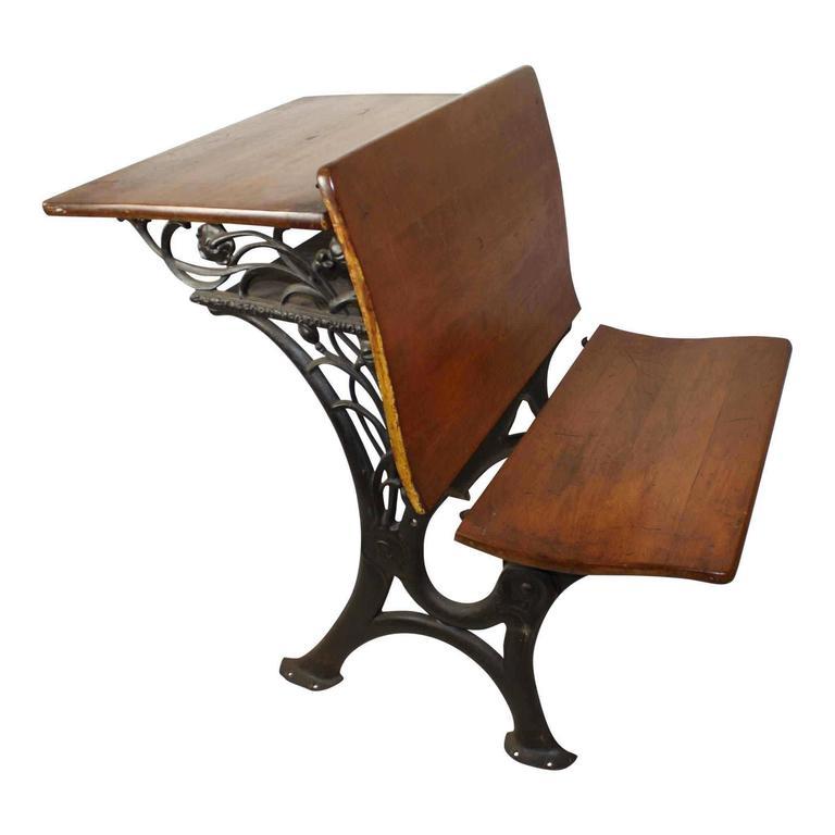 Marvelous Antique School Desk Value Woodworking Home Interior And Landscaping Fragforummapetitesourisinfo