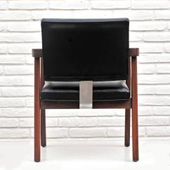 Herman Miller Leather Chair How To Make Cushions With Foam George Nelson For Walnut And Desk