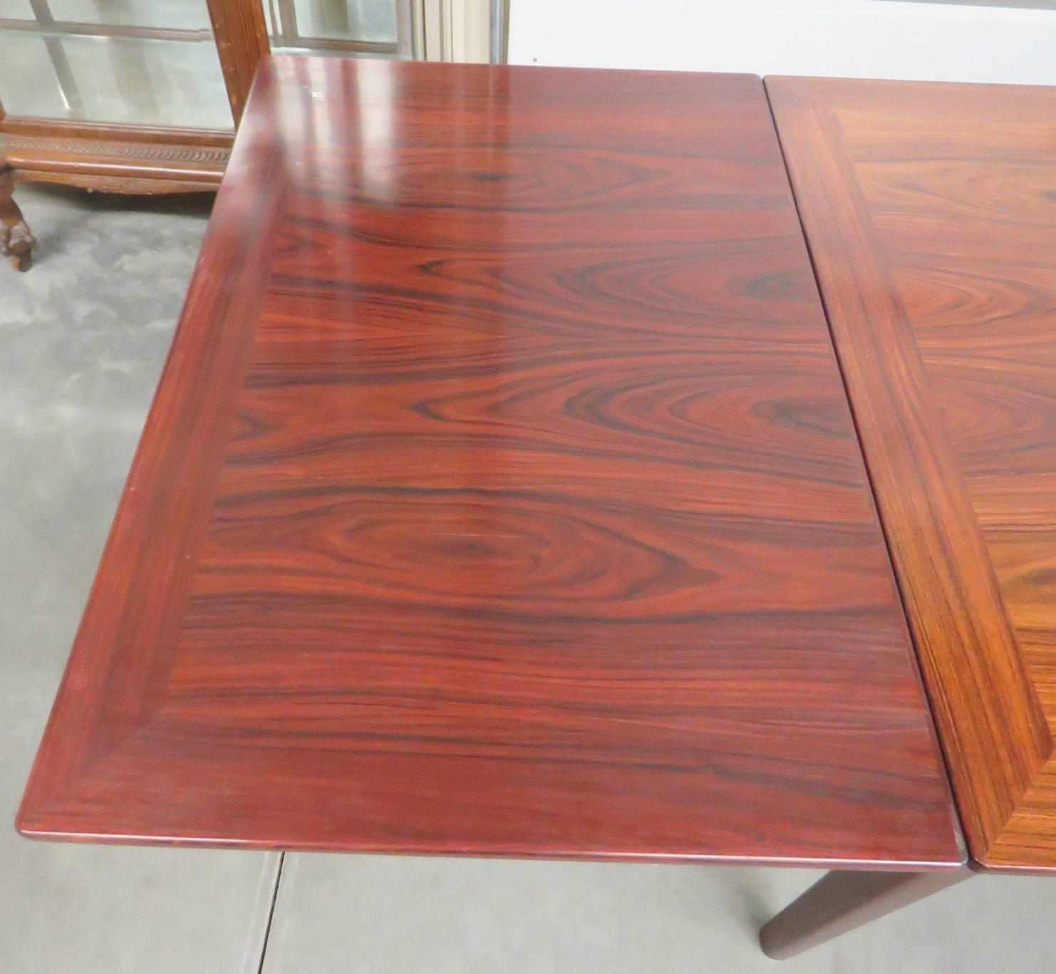 skovby rosewood dining chairs chicco hook on chair 360 mobelfabrik danish modern table for