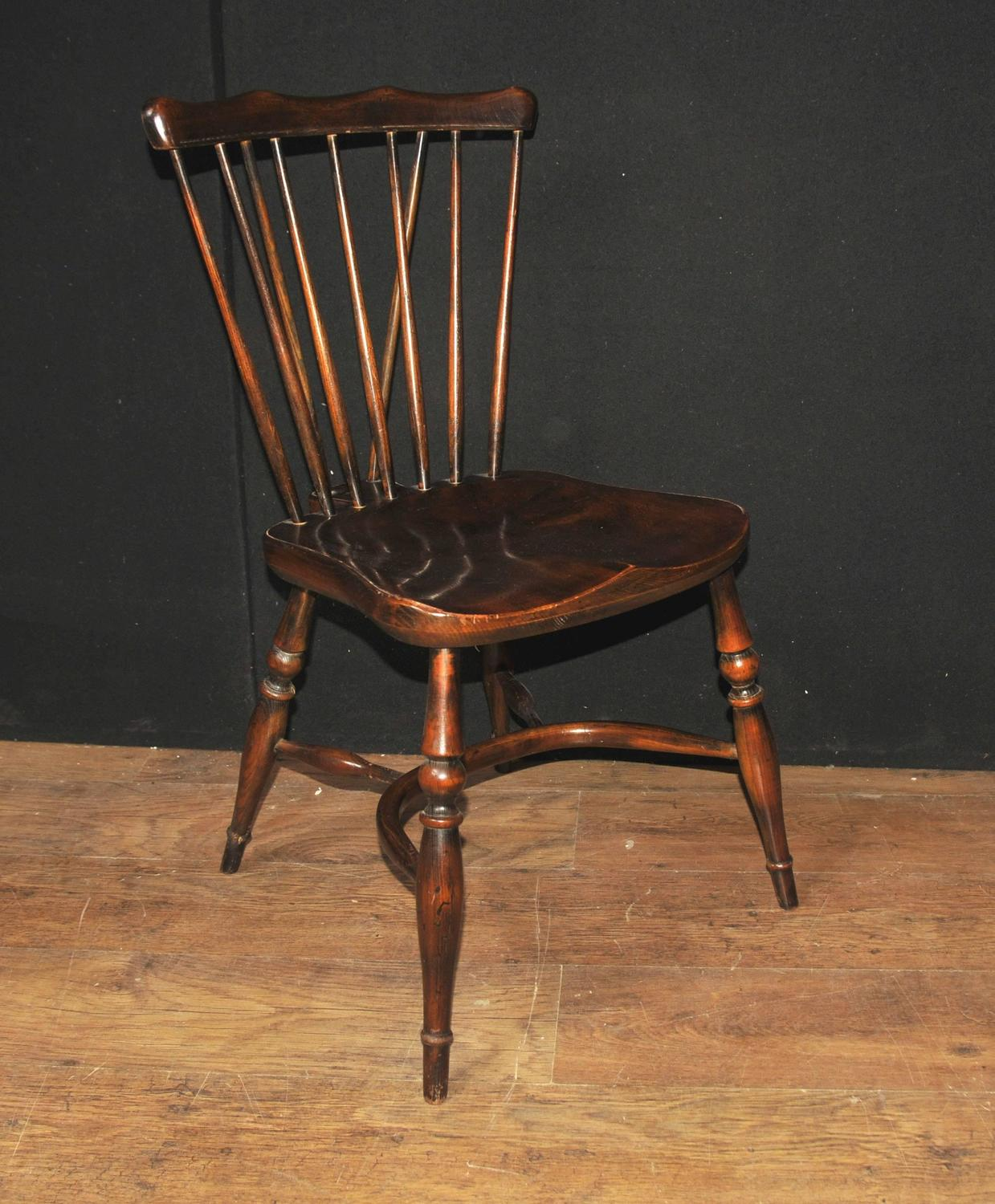 antique windsor chairs for sale solid oak rocking chair set of eight 1920 kitchen