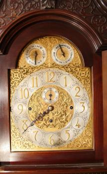 Antique Longcase Clock Movement From England - Year of Clean