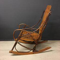 1920s Rocking Chair Modern Nursery Vintage American Adirondack For Sale