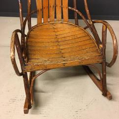 1920s Rocking Chair Baby High Singapore Vintage American Adirondack For Sale