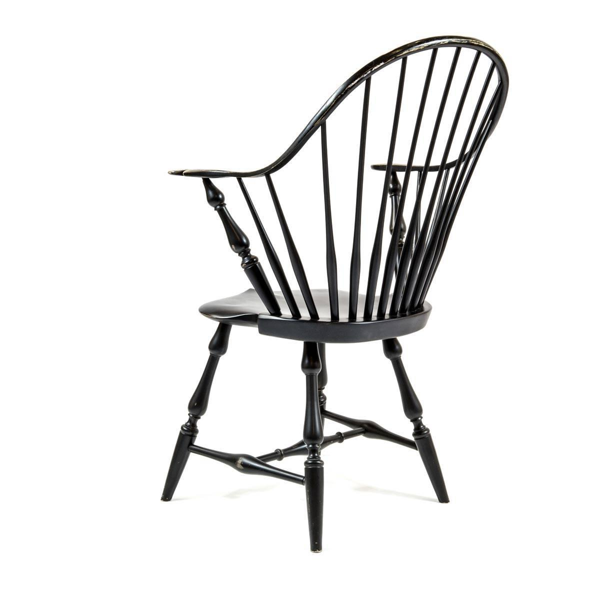 Black Windsor Chair Shimna Windsor Captains Chair Distressed Black Finish For