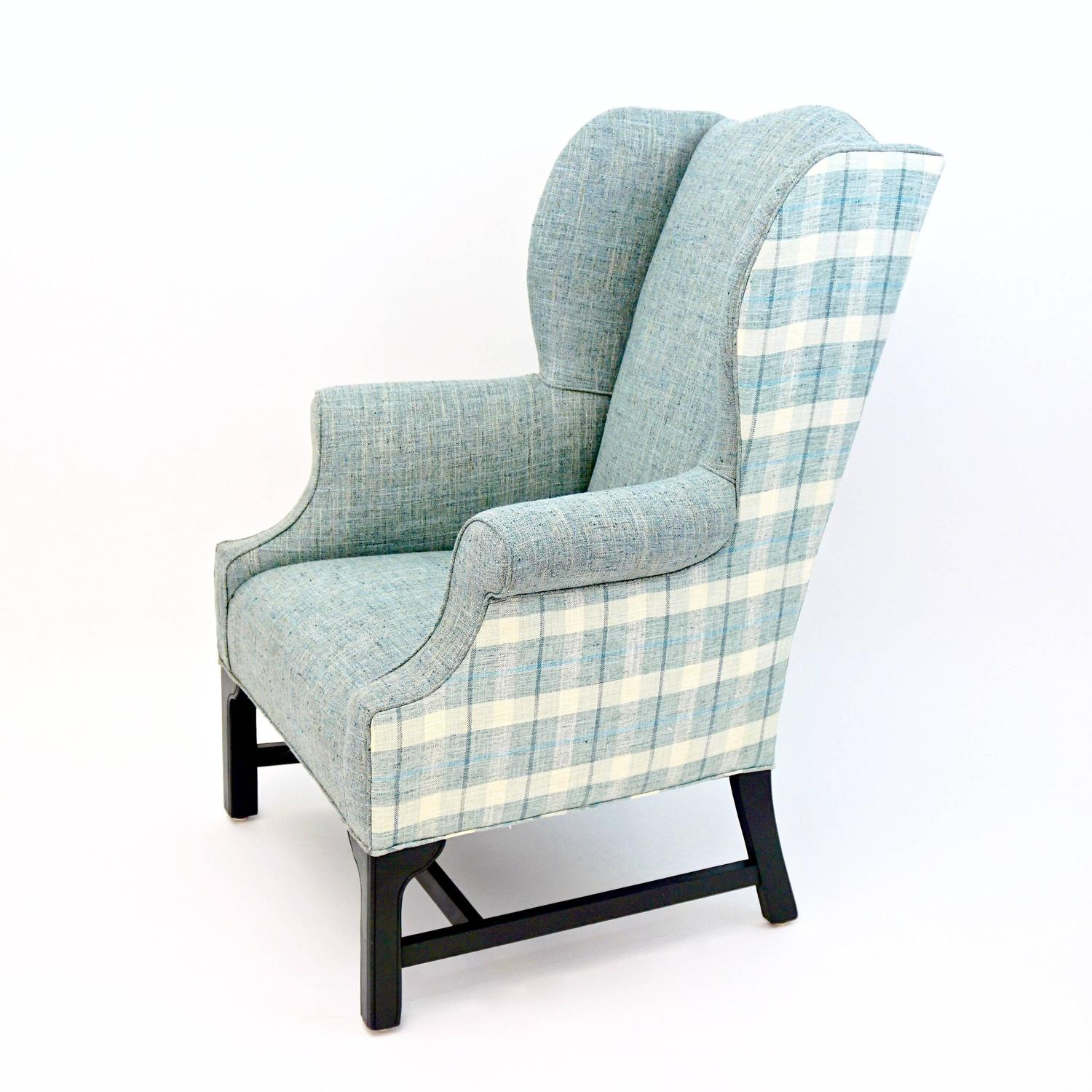 wingback chair for sale amazon stretch covers vintage wing newly upholstered at 1stdibs