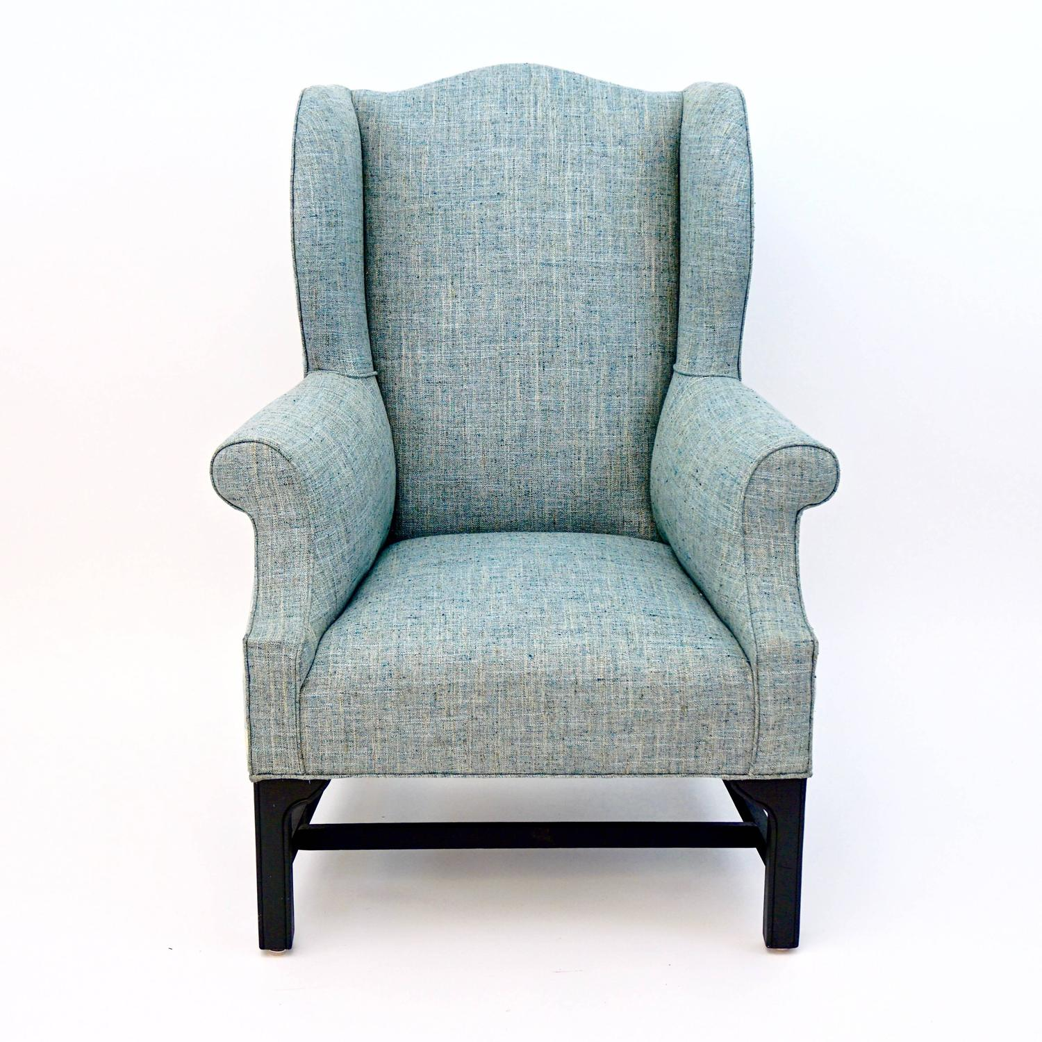 wingback chair for sale covers bristol and bath vintage wing newly upholstered at 1stdibs