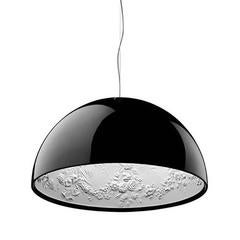 Black Skygarden S2 Suspension Pendant Lamp By Marcel Wanders For Flos Italy