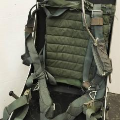 Ejection Seat Office Chair Laptop Stand Polished F 16 Turned For Sale