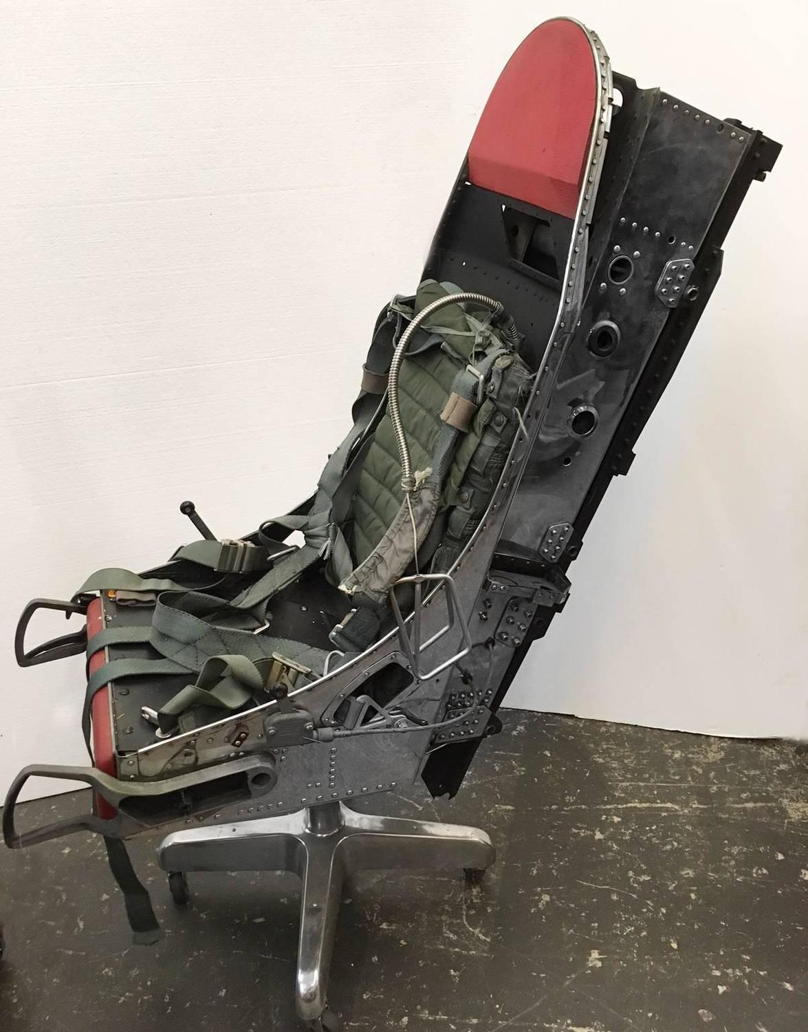 ejection seat office chair canoe walmart polished f 16 turned for sale