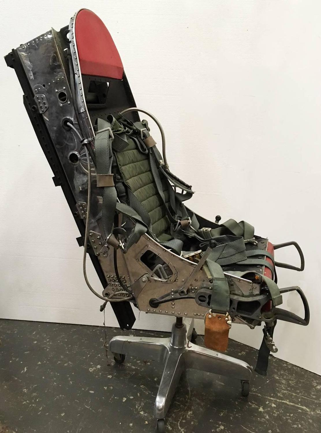 ejection seat office chair director covers ebay australia polished f 16 turned for sale