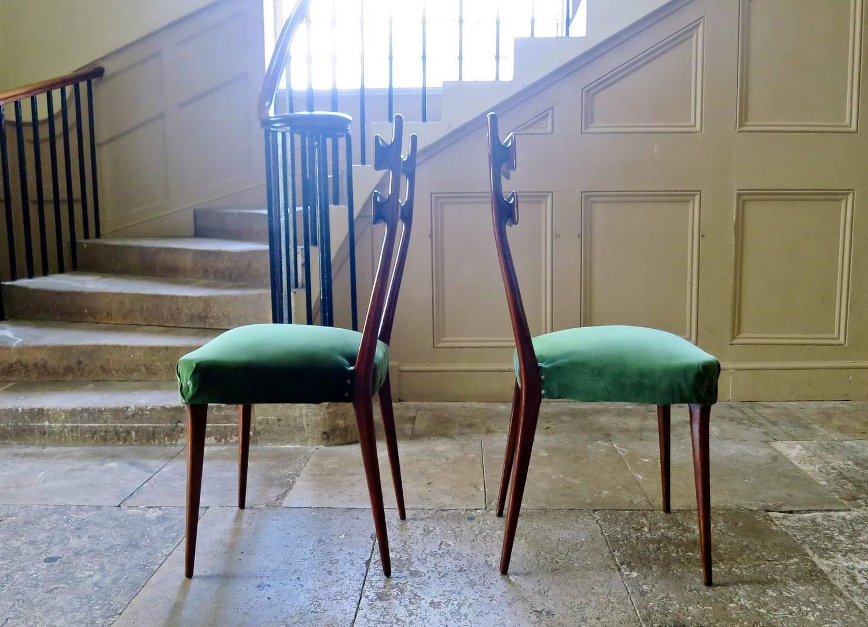 dining chairs italian design world market metal mid century set of six in velvet