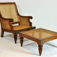 British Colonial Chair Folding Covers For Wedding Imports Caned Leather Plantation Style