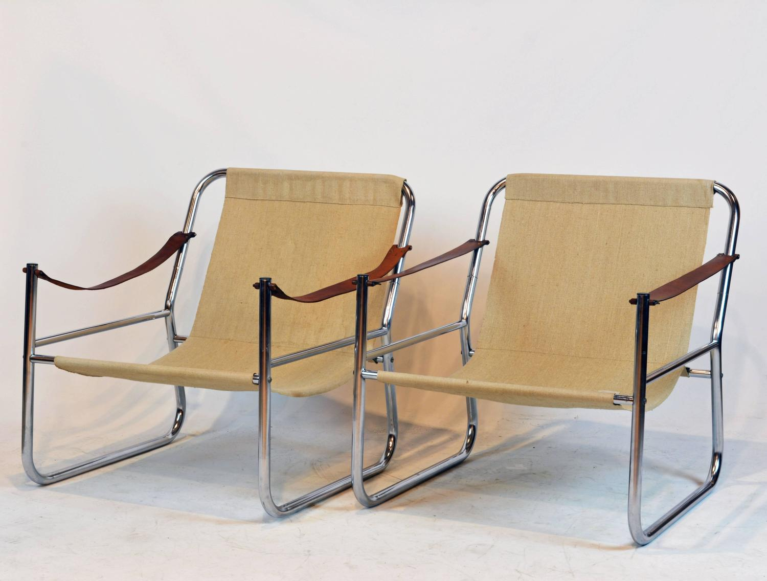 toddler lounge chair with straps homedics reclining massage pair of mid century modern chrome and leather