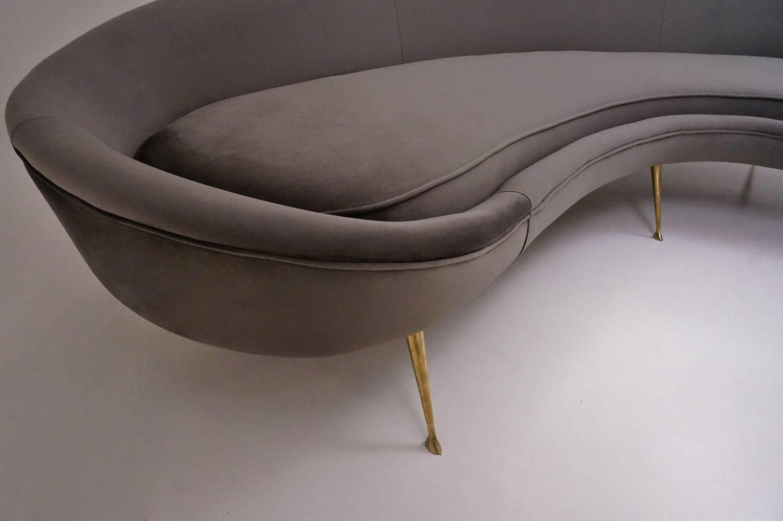 century furniture sofa quality mart denver kidney shaped available in 25 colors of velvet ...