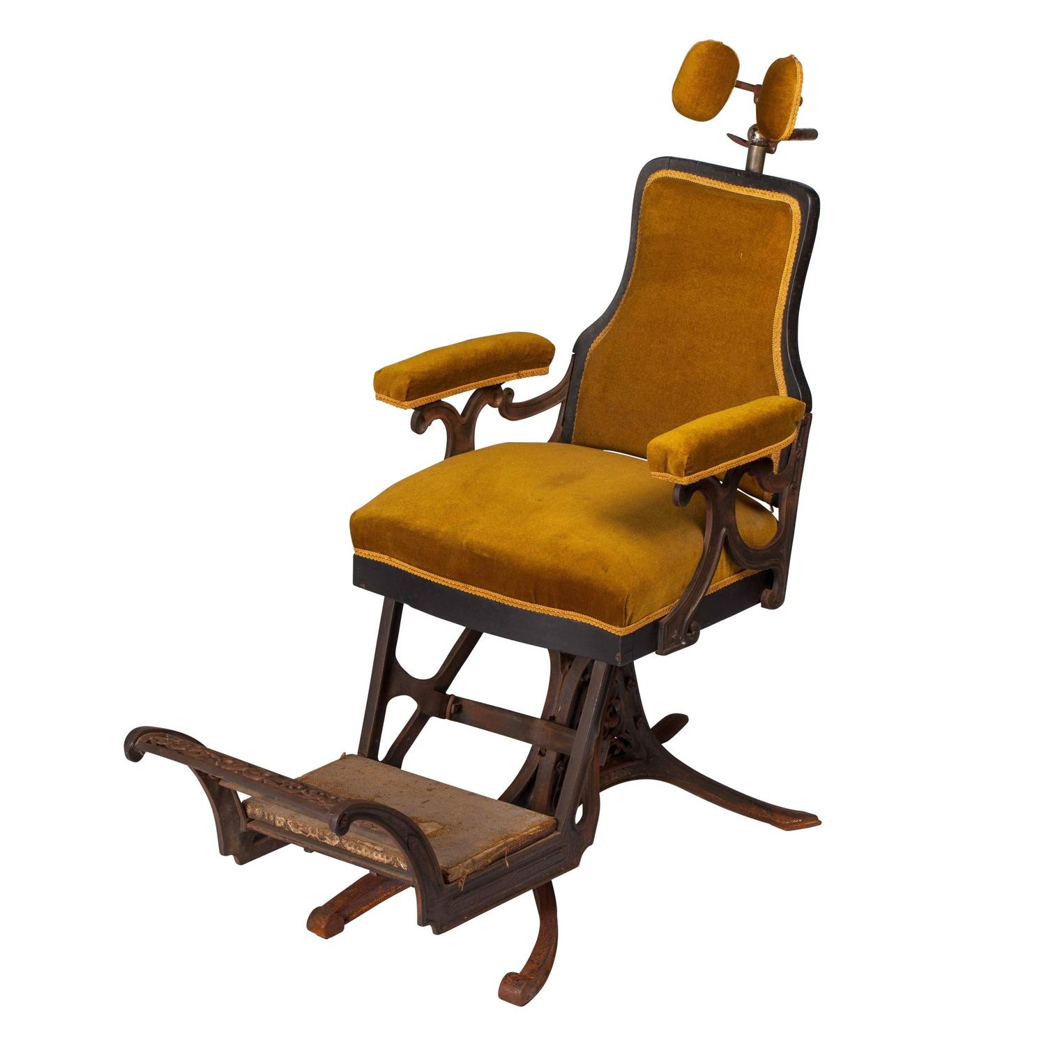 antique dentist chairs hickory for sale french chair by louis alexandre billard