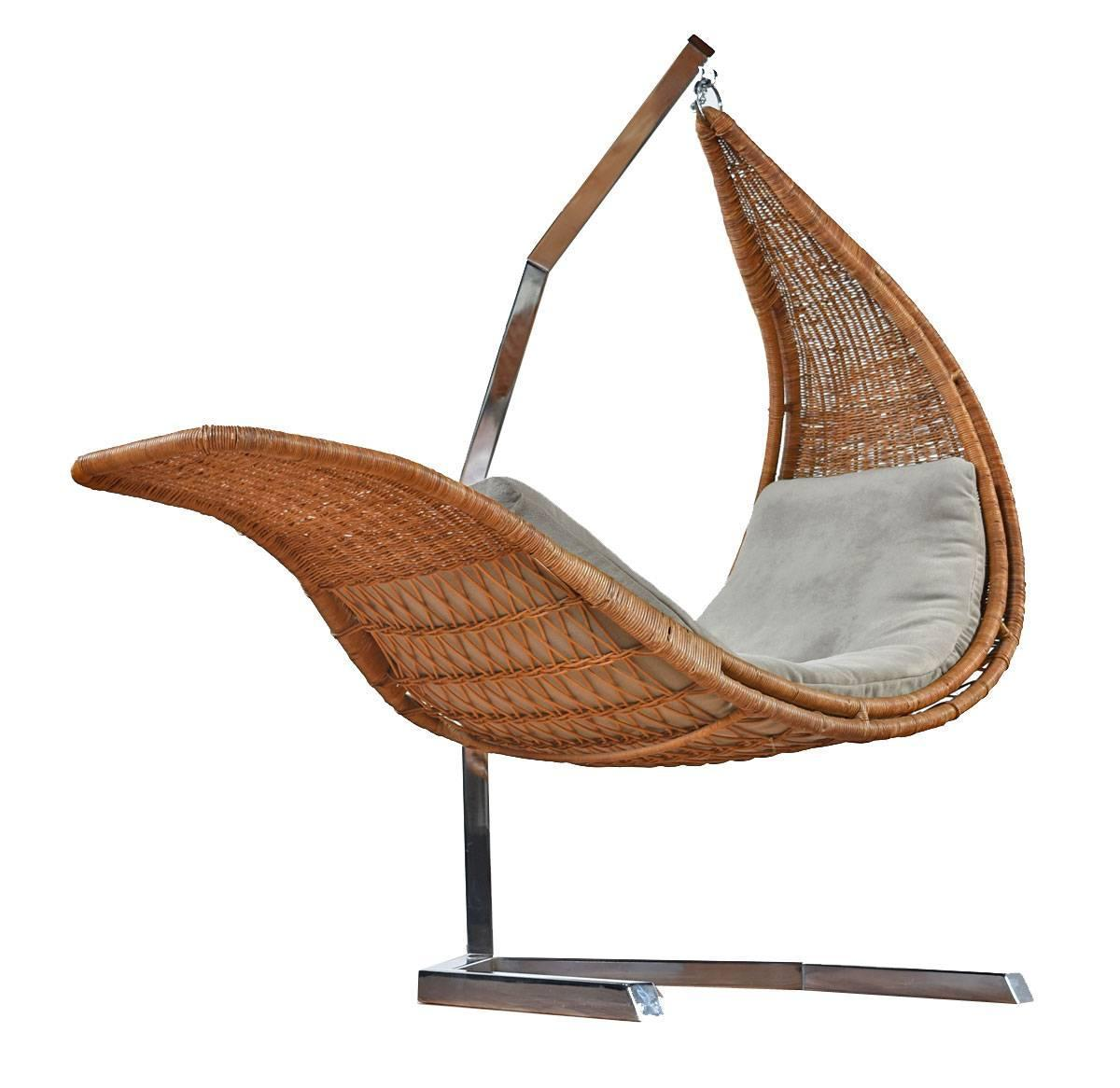 hanging chairs for sale lounge chair studio created wicker and chrome chaise