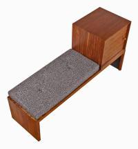 Milo Baughman for Drexel Modular Bench with Storage at 1stdibs