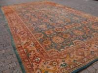 Antique Turkish Oushak Carpet of Very Large Size, Ex ...