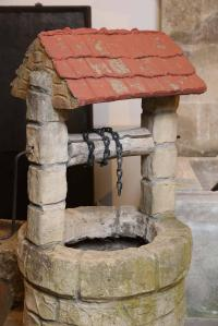 Concrete Wishing Well at 1stdibs