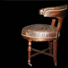 Shoe Shaped Chair Recliner Massage Victorian Worn Captains For Sale At 1stdibs