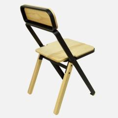 High End Folding Chairs Outdoor Lounge Set Of Four Profile Black And Natural From Souda Made To Order For Sale At 1stdibs
