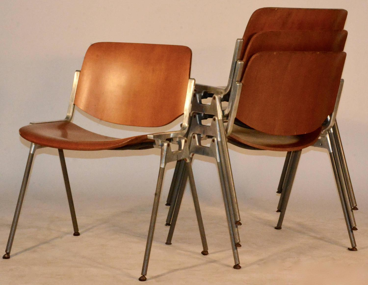 conference chairs for sale ergonomic chair johannesburg set of four giancarlo piretti