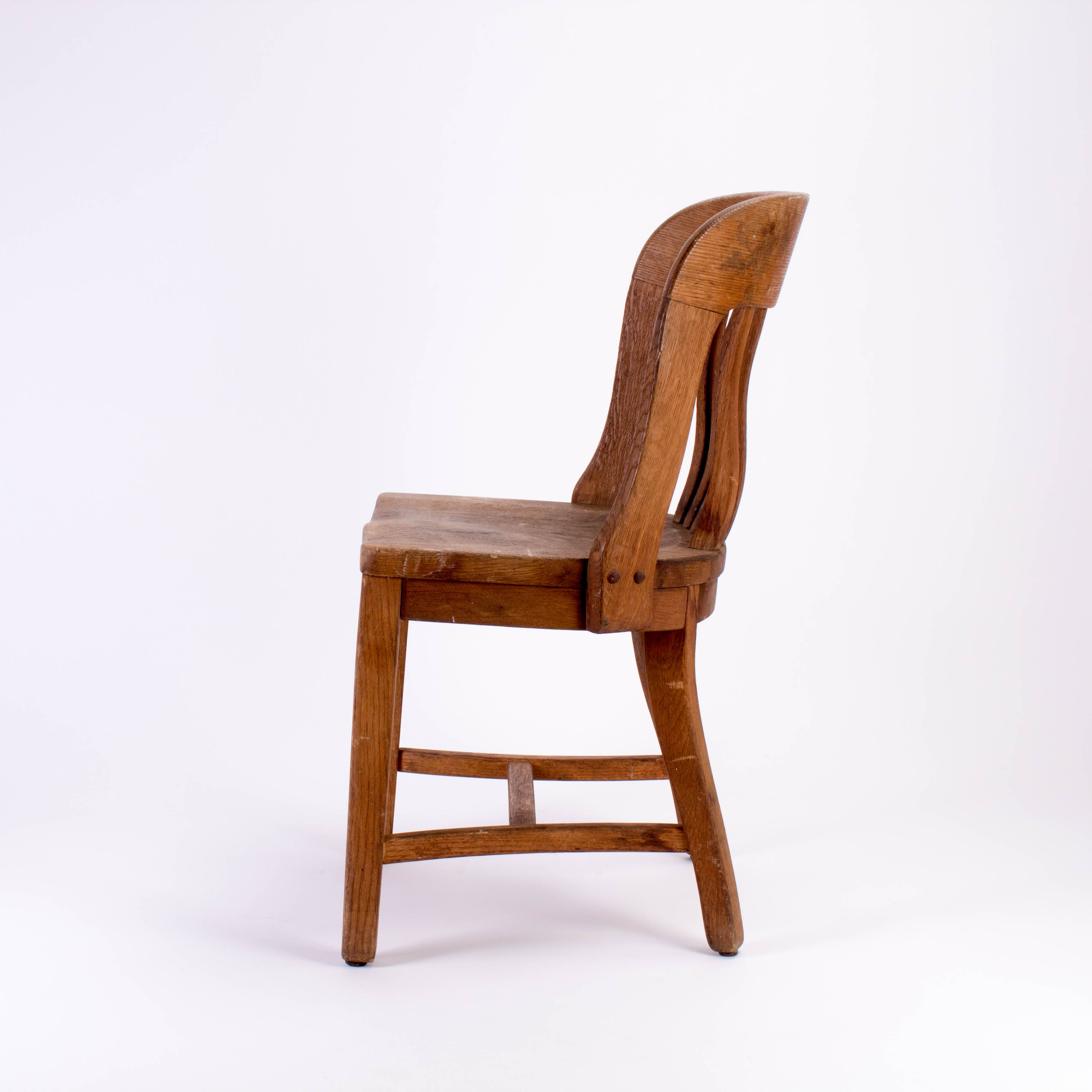 wooden library chair rustic rocking chairs wood for sale at 1stdibs