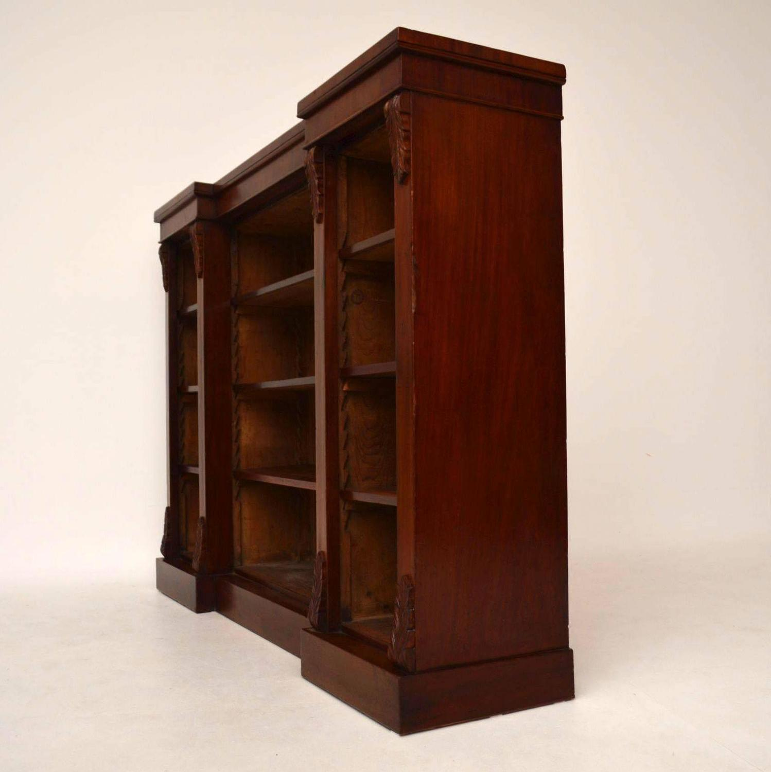 bookshelf chair for sale most comfortable desk antique victorian mahogany open bookcase at 1stdibs