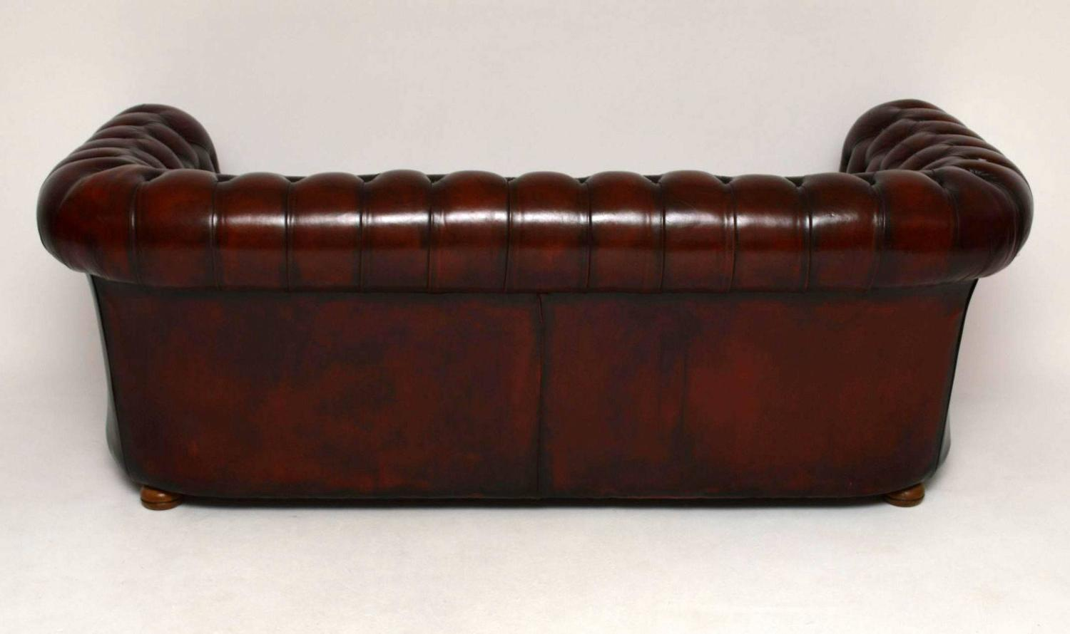 leather chesterfield sofa for sale reading antique at 1stdibs
