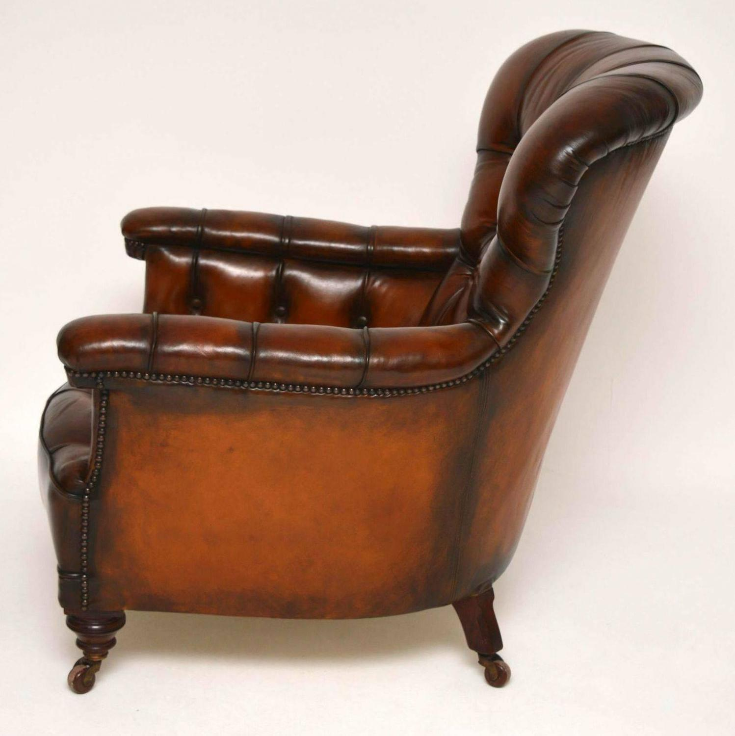 arm chairs for sale chair and half sleeper sofa stunning antique victorian leather armchair at
