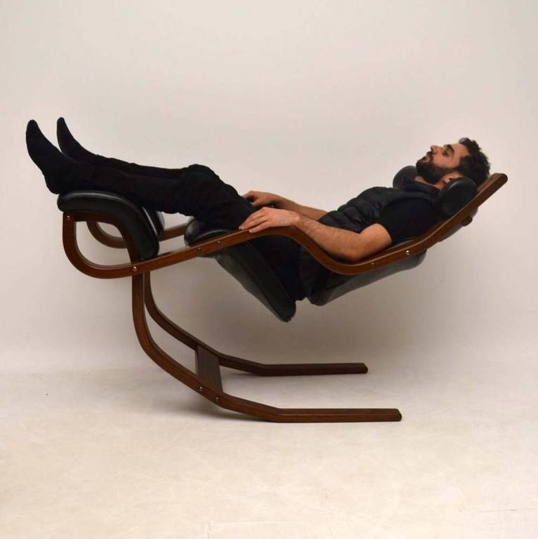 stokke gravity balans chair leather eames and bentwood armchair by peter opsvik for at 1stdibs