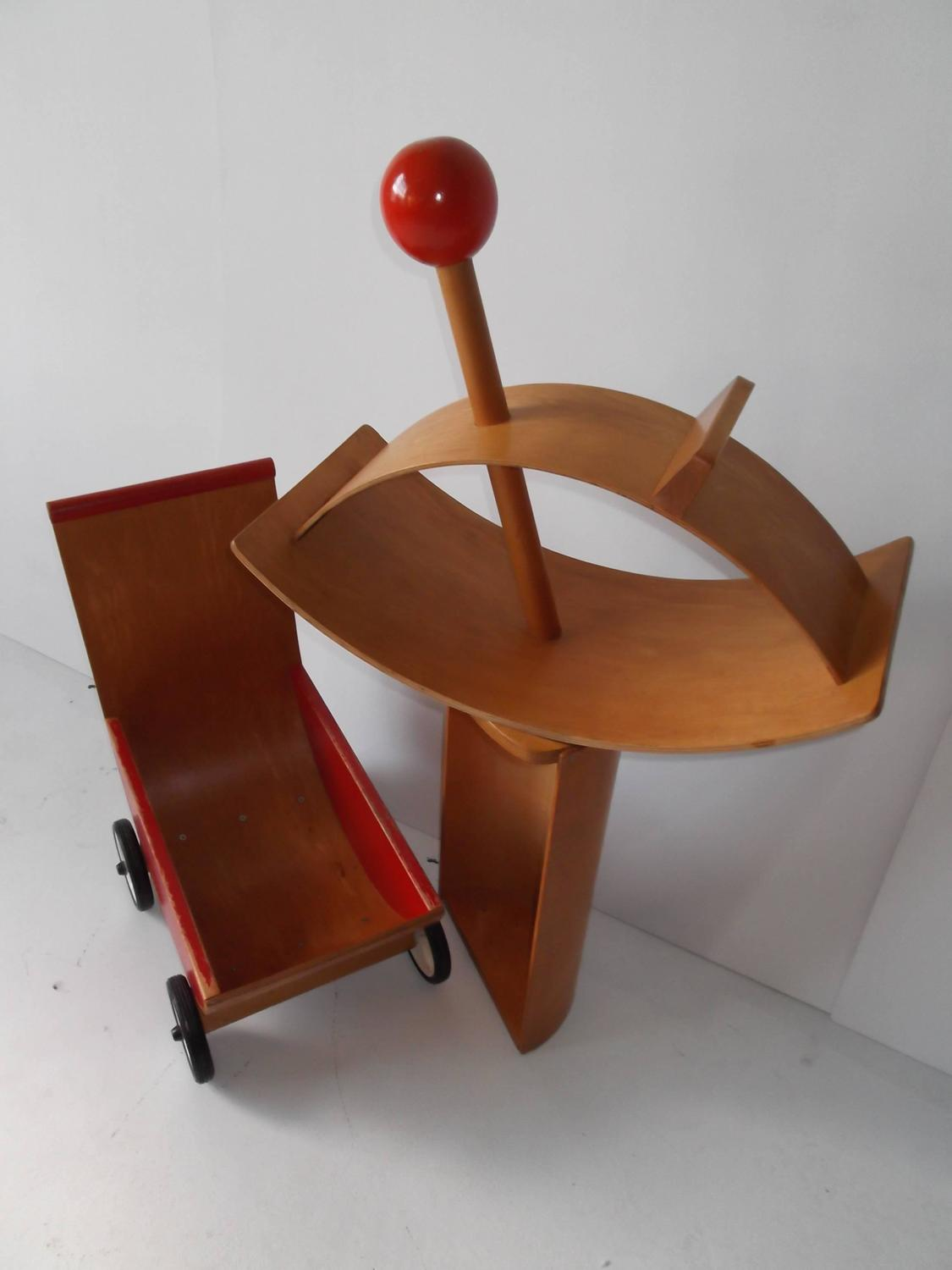 rocking chair cradle swimming pool chairs and tables creative playthings bentwood lot of child 39s toys