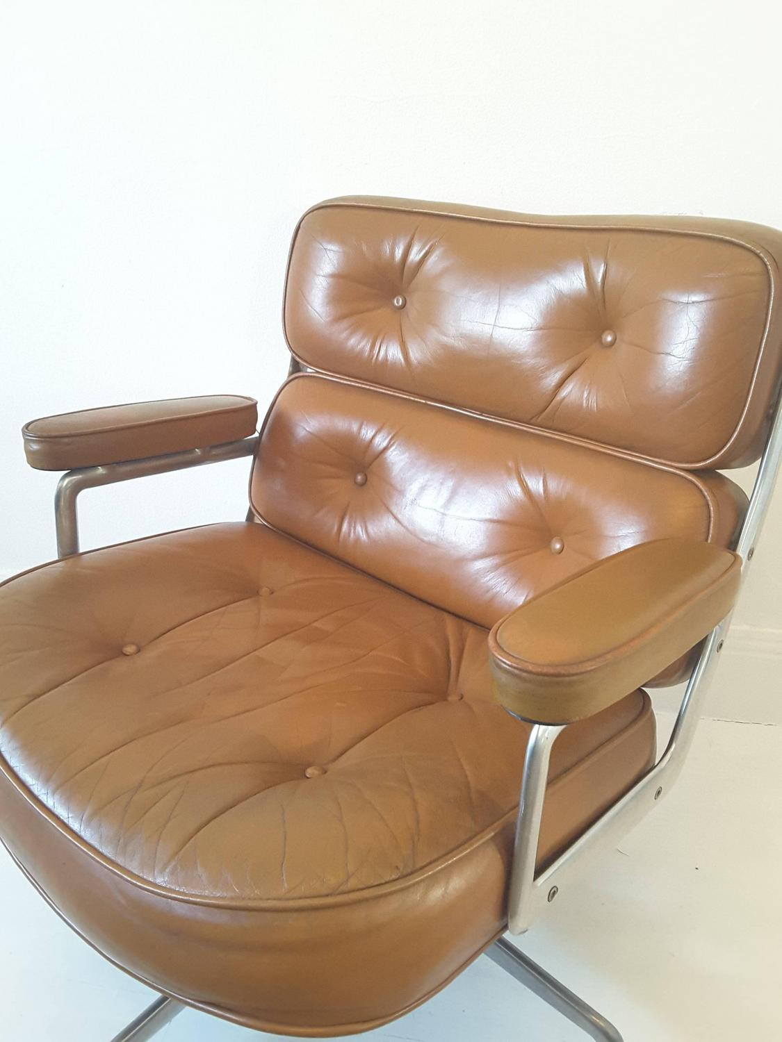 eames lounge chair for sale swivel stopper vintage time life lobby at 1stdibs