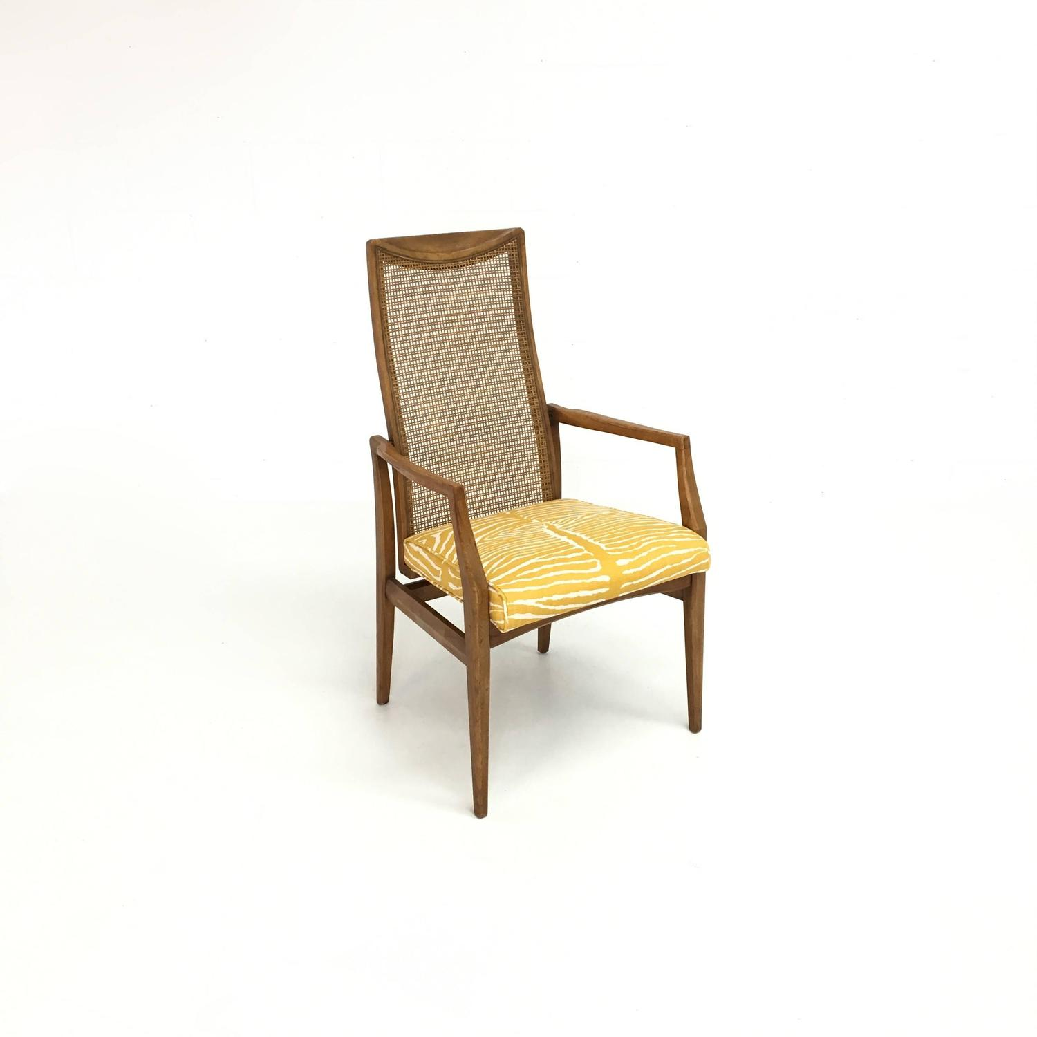 zebra dining chairs verner panton chair set of six mid century modern caned