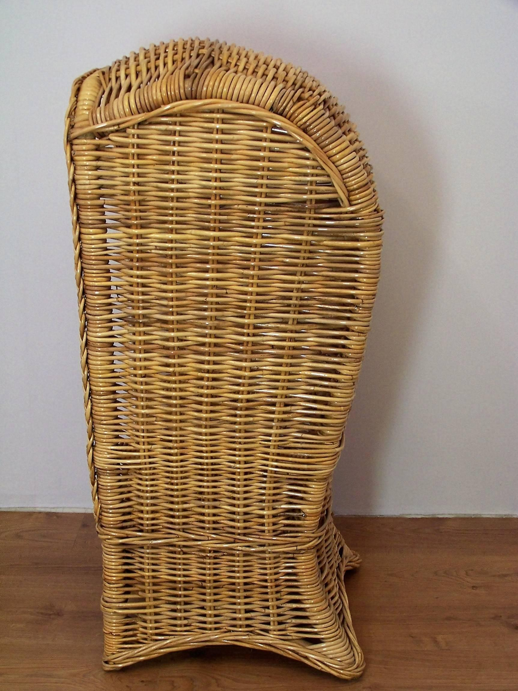 childs rattan chair layout design cabin for child sale at 1stdibs original and scandinavian style this beautiful children will be a centrepiece