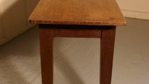 Long Narrow Farmhouse Kitchen Table For Sale At 1stdibs