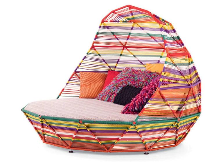 swing chair patricia urquiola anti gravity replacement cord moroso tropicalia daybed for indoor and outdoor sale at 1stdibs