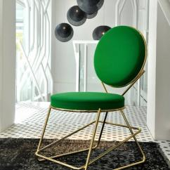 Dining Chairs With Arms Upholstered Chair Stools Moroso Double Zero In Polished Black Chrome Or Gold For Sale At 1stdibs