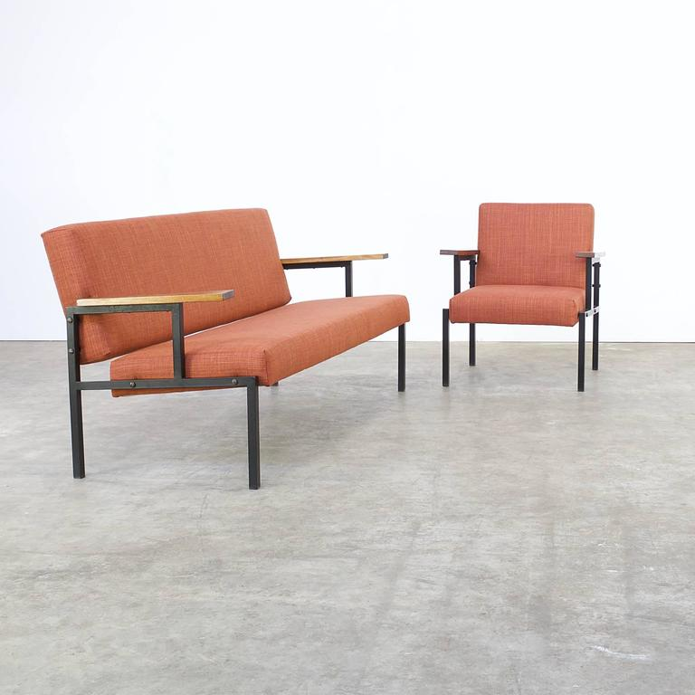 one sofa seat jennifer convertibles softee bed 1960s seating group and fauteuil attributed to gijs van set of plus
