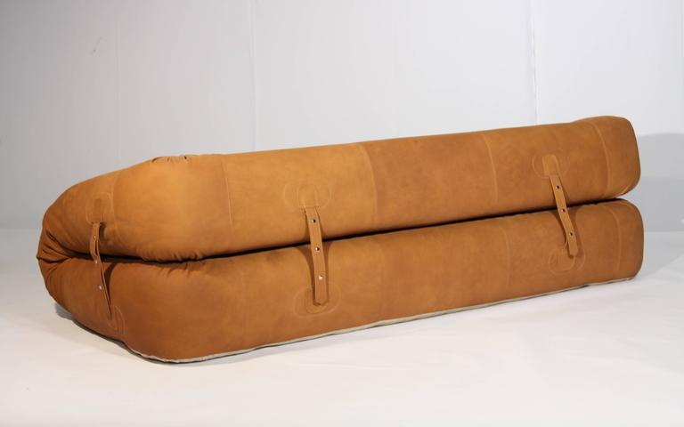 anfibio leather sofa bed vacuum cleaner by alessandro becchi for giovannetti ...